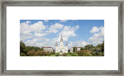 New Orleans Panorama Framed Print by Kay Pickens