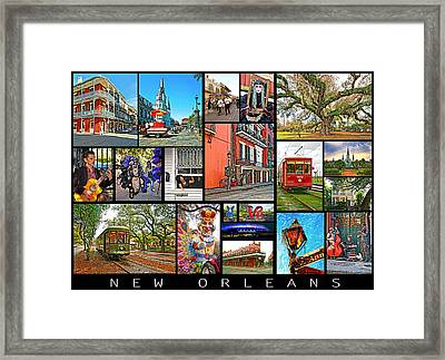 New Orleans Framed Print by Steve Harrington