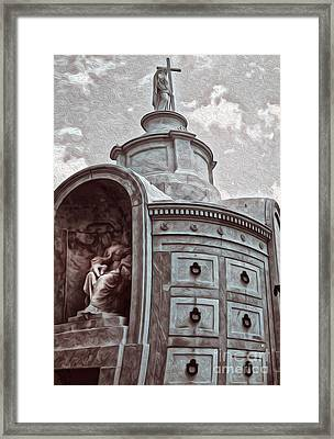 New Orleans - St.louis Cemetery Framed Print by Gregory Dyer