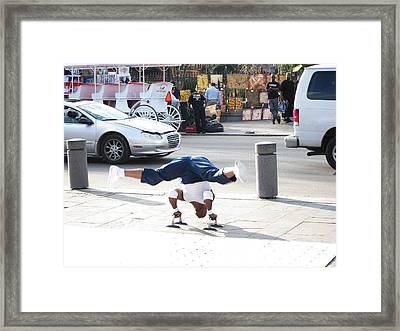 New Orleans - Street Performers - 121212 Framed Print by DC Photographer