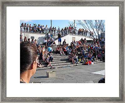 New Orleans - Street Performers - 12122 Framed Print by DC Photographer