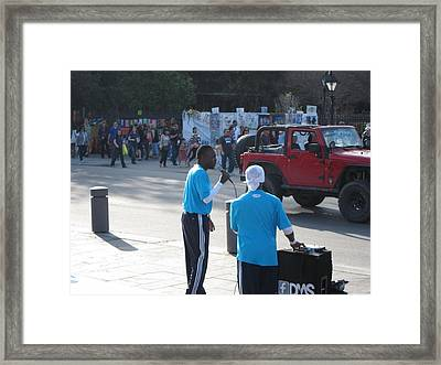 New Orleans - Street Performers - 12125 Framed Print by DC Photographer