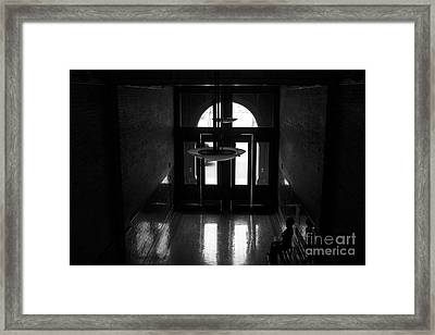 New Photographic Art Print For Sale Bradbury Building 12 Downtown La Framed Print by Toula Mavridou-Messer