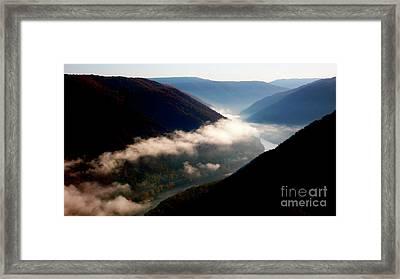 New River Gorge National River                           Framed Print by Thomas R Fletcher