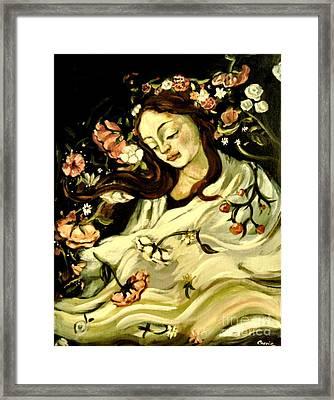 New Spring Framed Print by Carrie Joy Byrnes