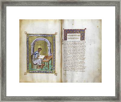 New Testament Framed Print by British Library