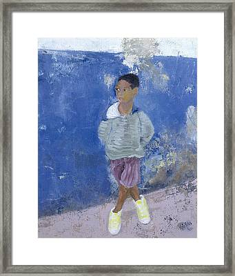 New Trainers Havana Cuba Framed Print by Kate Yates