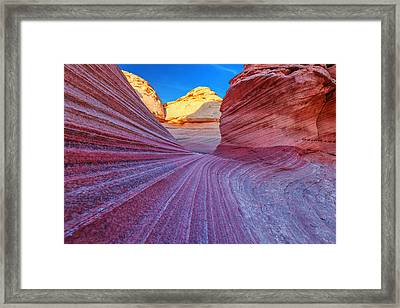 New Wave Framed Print by Darren  White