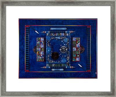 New World Equilibrium Framed Print by Armand Elgrissy