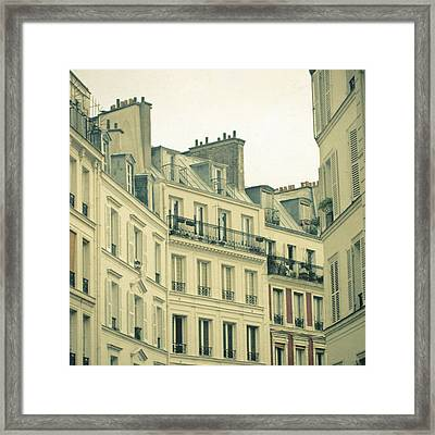 New Year In Paris Framed Print by Cassia Beck