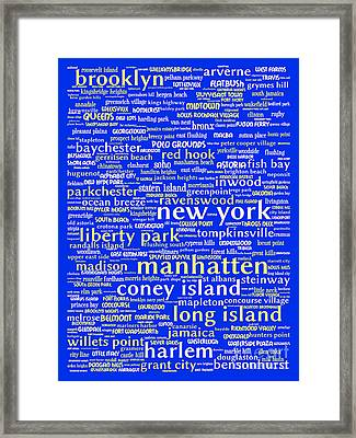 New York 20130709 Framed Print by Wingsdomain Art and Photography