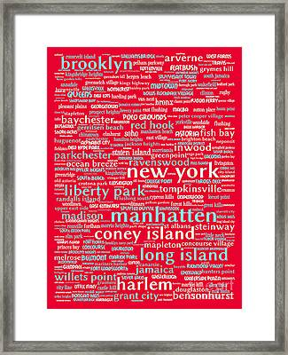 New York 20130709p120 Framed Print by Wingsdomain Art and Photography
