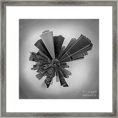 New York Circagraph 5 Framed Print by Az Jackson