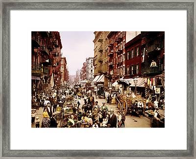 New York City 1900 Framed Print by Mountain Dreams