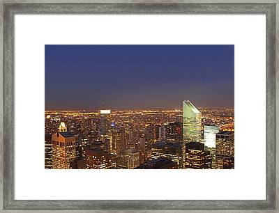 New York City Citicorp Center Framed Print by Juergen Roth