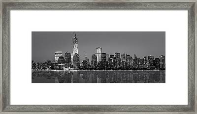 New York City Framed Print by Eduard Moldoveanu