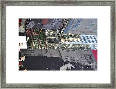New York City Iv Framed Print by Robert Daniels