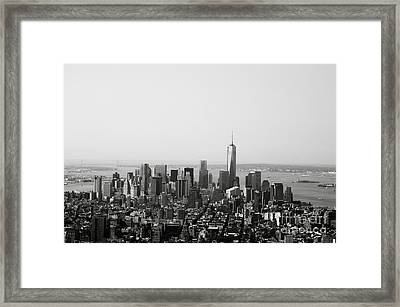 New York City Framed Print by Linda Woods