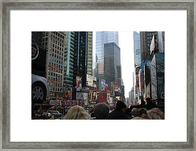 New York City - Sights Of The City - 12121 Framed Print by DC Photographer