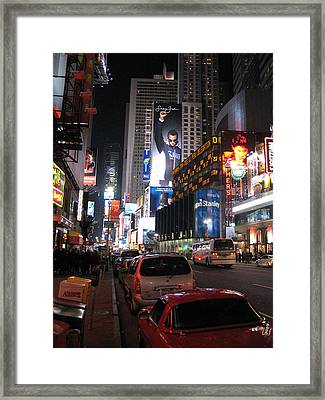 New York City - Times Square - 121224 Framed Print by DC Photographer