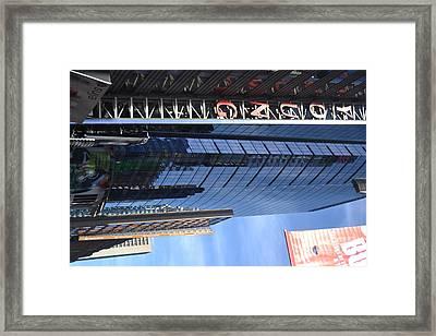 New York City V Framed Print by Robert Daniels