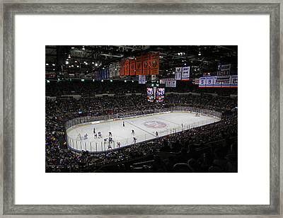 New York Islanders Framed Print by Juergen Roth