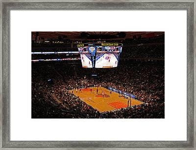 New York Knickerbockers Framed Print by Juergen Roth