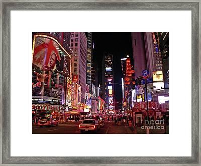 New York New York Framed Print by Angela Wright