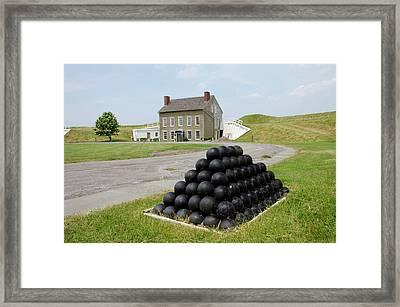 New York, Oswego Framed Print by Cindy Miller Hopkins