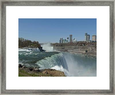 New York Side Framed Print by Gothicolors Donna Snyder
