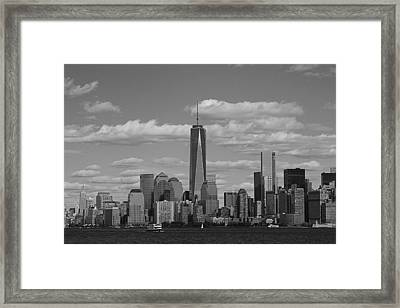 New York State Of Mind Framed Print by Dan Sproul