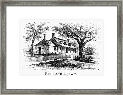 New York: Tavern, C1776 Framed Print by Granger