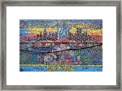 New York Framed Print by Wayne Higgs