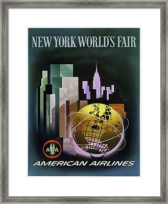 New York Worlds Fair Framed Print by Mark Rogan