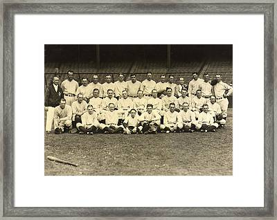 New York Yankees 1926 Framed Print by Unknown