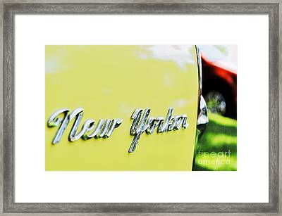 New Yorker Framed Print by Molly McPherson
