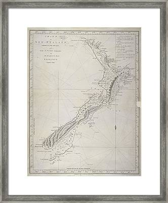 New Zealand Framed Print by British Library