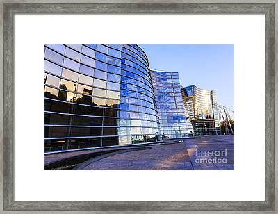 New Zealand Christchurch Art Gallery Framed Print by Colin and Linda McKie