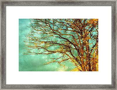 Newly Magical 01 Framed Print by Violet Gray