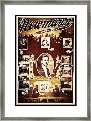 Newmann The Great Framed Print by The  Vault - Jennifer Rondinelli Reilly