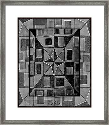 Newton Framed Framed Print by Barbara St Jean