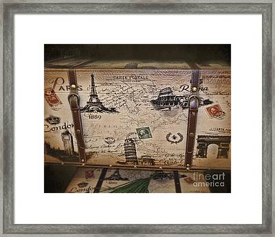Next Stop London Framed Print by TN Fairey