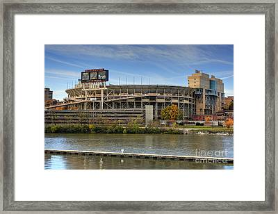 Neyland Stadium Framed Print by Photography by Laura Lee