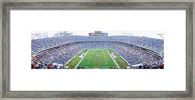 Nfl Football, Ericsson Stadium Framed Print by Panoramic Images