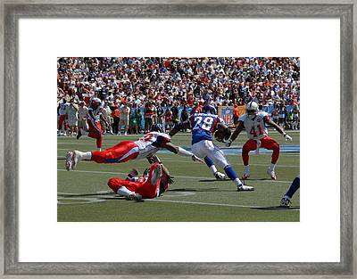 Nfl Pro Bowl Framed Print by Mountain Dreams