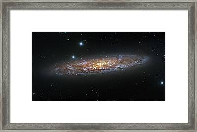 Ngc 2841 Galaxy Framed Print by Celestial Images