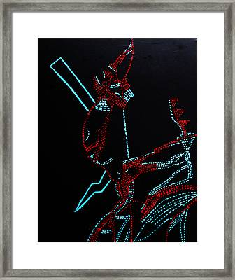 Nhialic - Deity - South Sudan Framed Print by Gloria Ssali