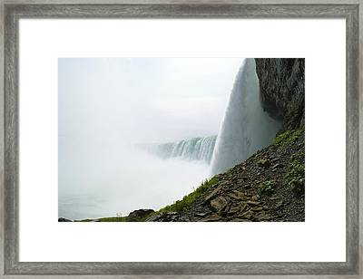 Niagara Falls Framed Print by Andrew Johnson