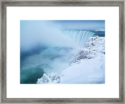 Niagara Falls In Winter Framed Print by Oleksiy Maksymenko