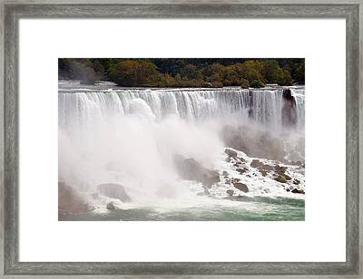 Niagara Falls Framed Print by Paul Van Baardwijk